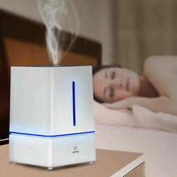 4L Ultrasonic Cool Mist Air Diffuser Humidifier w LED Night
