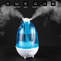 4L Ultrasonic Cool Mist Air Diffuser Humidifier w/LED Night