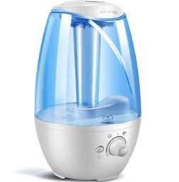 4L Ultrasonic Cool Mist Humidifier for Bedroom & Babies - Fi