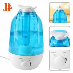 4L Ultrasonic LED Humidifier Diffuser Cool Mist Maker Air Pu