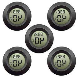 5-pack EEEkit Hygrometer Thermometer Digital LCD Monitor Ind