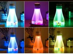 500ML Humidifier,Cool Mist, LED Night Lights,Home/Office Dec