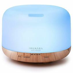 500ml Large Capacity Ultrasonic Aromatherapy Humidifier, Ess