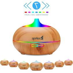 500ml Ultrasonic Humidifier Aroma Air Essential Oil Diffuser