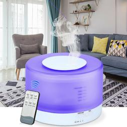 550ml W/Remote Control Ultrasonic Humidifier Essential Oil D
