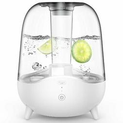 DEERMA 5L Ultrasonic Cool Mist Humidifier with Clear Transpa