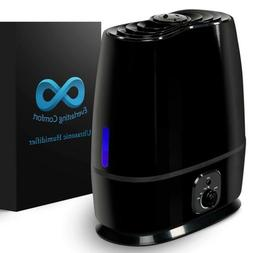 6L Humidifier Cool Mist Air Vaporizer With Essential Oil Tra