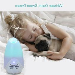 7 Color Changing Rainbow LED Ultrasonic Air Humidifier Purif