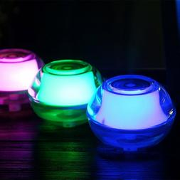 Color Air Humidifier LED Nightlight with Auto Shut-off