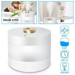 780ML Air Humidifier Ultrasonic USB LED Purifier Aroma Diffu