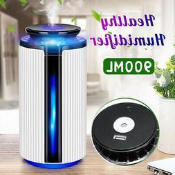 900ML Essential Oil Diffuser Humidifier USB Air Scent 7 Colo