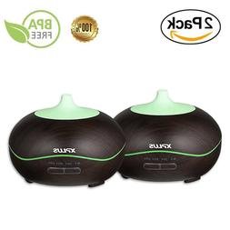 Oil Diffuser XPLUS with Color LED Lights for Baby Office Hom