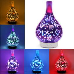 A-Ultrasonic Essential Oil Aroma Diffuser Mist Humidifier Pu