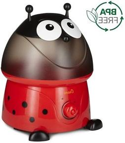 Adorable Lady Bug Ultrasonic Cool Mist Humidifier with Filte