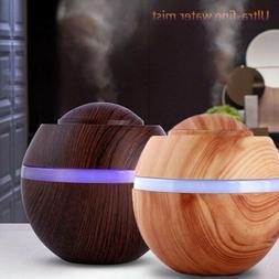 Air Aroma Essential Oil Diffuser 500ml LED Ultrasonic Aromat