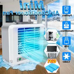 Air Conditioner Cooler Portable Mini Cooling USB Fan Humidif