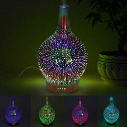 Air Diffuser Large Colorful Firework Essential Oil Mist Humi