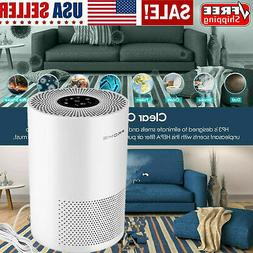 Air Purifier True HEPA Filter Air Cleaner Odor Allergies Eli