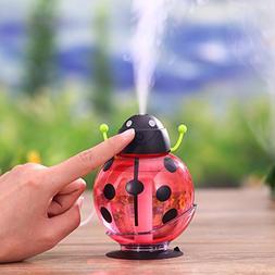 AmyoveMini Portable Mist Humidifier LED Night Light 260ml US