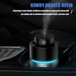 Aroma Diffuser Car Air Humidifier Dual USB Charger Purifier