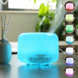 aroma essential oil diffuser 500ml ultrasonic humidifier