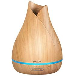 VicTsing 500ml Aromatherapy Essential Oil Diffuser, Ultrason