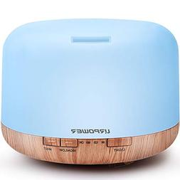 URPOWER Upgraded 500ML Essential Oil Diffuser Humidifiers Ul
