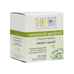 Aura Cacia Aromatherapy Shower Tablets, Purifying Eucalpytus