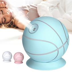USB Basketball Humidifier 7-Color LED lamp 240Ml Essential O