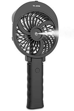 OPOLAR 2600mAh Battery Operated Misting Fan, 3 Settings Hand
