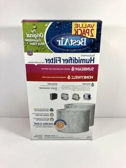 BestAir Value 2 Pack H75 Humidifier Filter For Sunbeam Holme