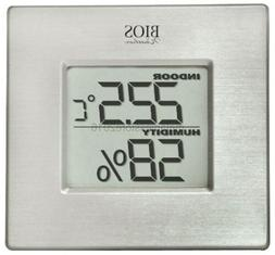Thermor Bios Indoor Hygrometer with Thermometer Aluminum Fac