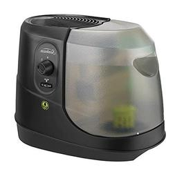 Black Antimicrobial-treated 1 gal Cool Mist Humidifier Tripl