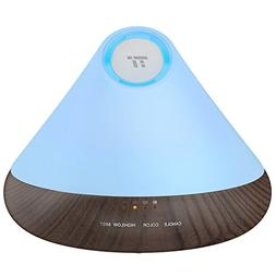TaoTronics Black Essential Oil Diffuser, 300ml Aromatherapy