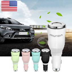 Car Air Humidifier Dual Power USB Charger Purifier Essential