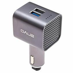 SUVO | Car Air Purifier | USB Fast Charger | Emergency Glass