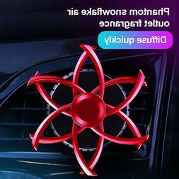 Car Humidifier Rotating Air Purifier Freshener Car Aroma Int