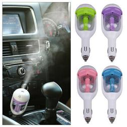 Car Humidifier with USB Charger 4 in 1 Essential Oil Aroma D