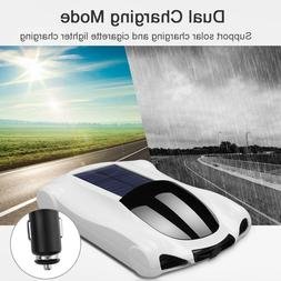 Car Solar Air Purifier Negative Ion Aroma Humidifier Activat