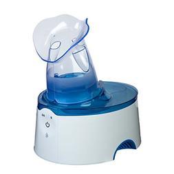 Crane USA Personal Steam Inhaler & Warm Mist Humidifier, Blu