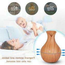 Color LED Ultrasonic Essential Oil Diffuser Aromatherapy Air