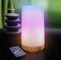 LED Concepts Essential Oil Diffuser Mist Humidifier with Rem