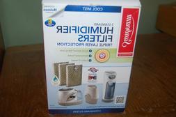 Sunbeam Cool Mist 3 Standard Humidifier Filters Size E