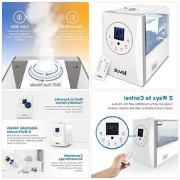 Levoit Cool and Warm Mist Humidifier Ultrasonic Air Humidifi