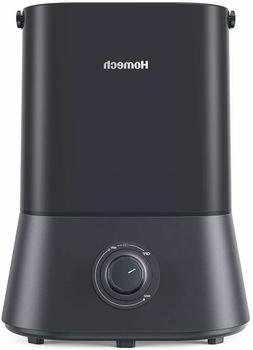 Homech Cool Mist Humidifier, 26dB Quiet Ultrasonic Humidifie