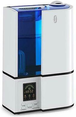 Cool Mist Humidifier, 4L Ultrasonic Humidifiers for Large Be