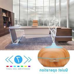 Cool Mist Humidifier LED Ultrasonic Essential Oil Aroma Diff