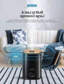 iTvanila Cool Mist Humidifiers, 5L Humidifier for Bedroom La