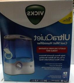 Vicks Cool Mist Ultra Quiet Humidifier V5100NS 1.2 Gallon Me