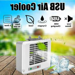 Desk Portable Air Conditioner Cooler Mini 3 Modes Air Purifi